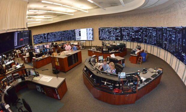 photo of energy control center